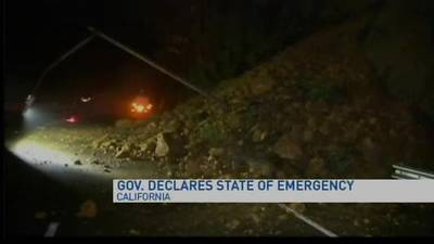News video: Gov. Jerry Brown declares state of emergency